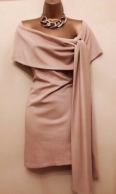 FRANCESCA COUTURE Pippa  Designer Nude Wedding Occasion Maternity Dress 10-12
