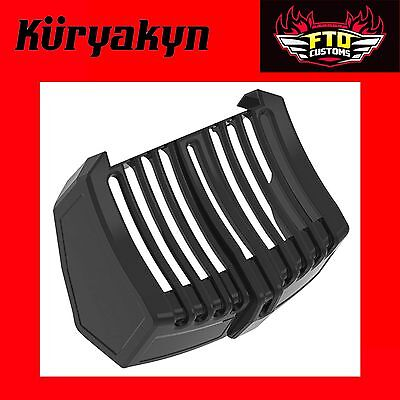 Kuryakyn Gloss Black Precision Oil Cooler Cover for V-Twin 6418