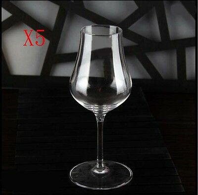 New 5X Capacity 70ML Height 165MM High Foot White Wine Glass/Glassware %