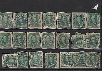 United States 1902 Used Stamps Ref: R4358
