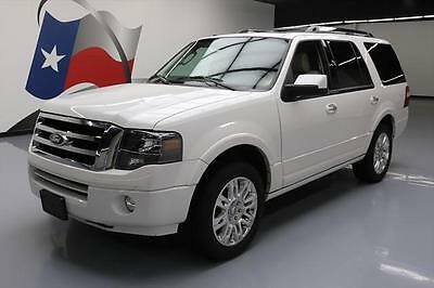 2014 Ford Expedition Limited Sport Utility 4-Door 2014 FORD EXPEDITION LIMITED SUNROOF NAV DVD 20'S 34K #F32520 Texas Direct Auto