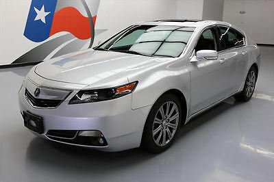 2014 Acura TL Base Sedan 4-Door 2014 ACURA TL SPECIAL EDITION HTD LEATHER SUNROOF 46K #004382 Texas Direct Auto
