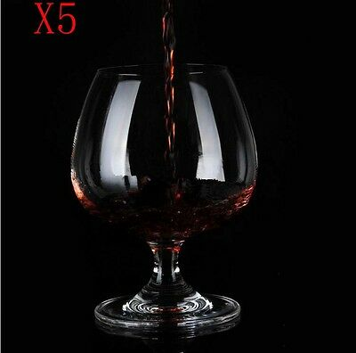 New 5X Capacity 400ML  Height  126MM  Transparent  Red Wine Glass/Glassware %