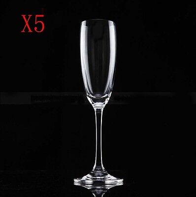 New 5X Capacity 170ML  Height  255MM  Transparent  Red Wine Glass/Glassware %