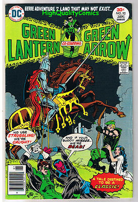 GREEN LANTERN #92, FN, Green Arrow, Mike Grell, Legend of, 1960, more in store
