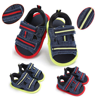 Infant Baby Girl Boy Summer Soft Sole Toddler Anti-slip Kid Shoes Casual Sandals