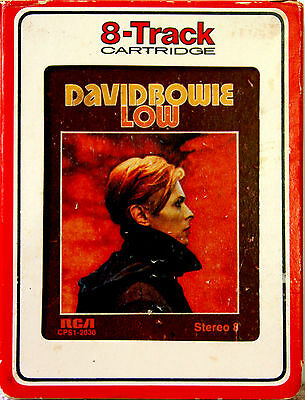 DAVID BOWIE Low  8 TRACK TAPE  CARTRIDGE