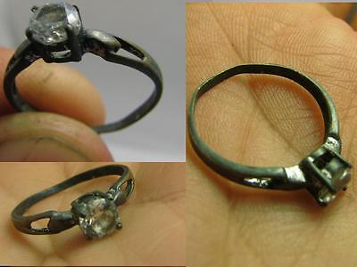 VERY NICE VINTAGE STERLING SILVER  RING with STONE   # 6146