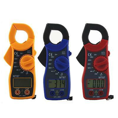 Digital Voltmeter Ammeter Ohmmeter Multimeter Volt AC DC Tester Clamp Meter Good