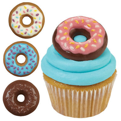 Wilton DONUTS DOUGHNUTS Chocolate Candy Mould Party Baking Decorating Sugarcraft