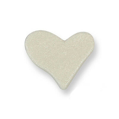 PME Large Pearl Heart Cup Cake Icing Sugar Edible Sugarcraft Decoration 6 Pack