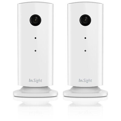 2x Philips WiFi Remote Monitoring CCTV Baby / Pet Monitor Camera for iPhone Ipad
