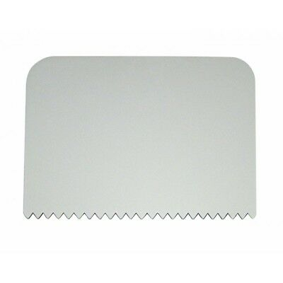 PME Combed Patterned Edge Plastic Side Scrapers Cake Decorating Icing Sugarcraft