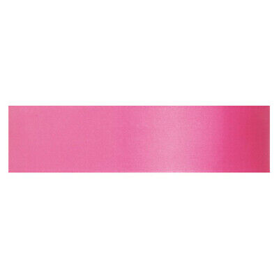 Culpitt LIPSTICK PINK 12mm x 25m Double Faced Satin Ribbon Cake Decoration Craft