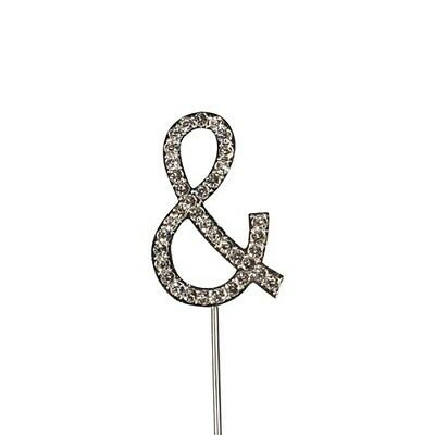 Culpitt & Diamante Letter Topper Wedding Anniversary Birthday Cake Decorations