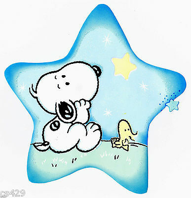 """5/"""" Baby snoopy woodstock bug dragonfly  prepasted wall border cut out character"""