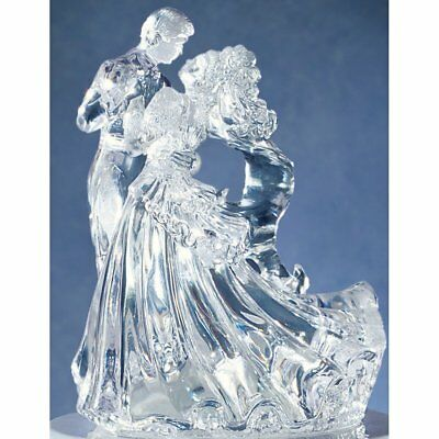Wilton BIANCA Wedding Anniversary Cake Acrylic Topper Dancer Figurine Decoration