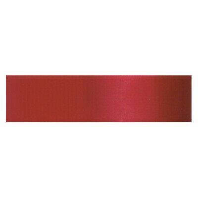 Culpitt SCARLET RED 15mm x 25m Double Faced Satin Ribbon Cake Decoration Craft