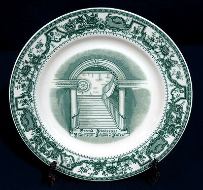 Vintage Antique Eastman School of Music Grand Staircase Plate circa 1921 Rare!