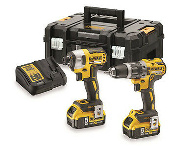 DeWalt DCK266P2T 18v XR Twin Pack (T-STAK Version) 5.0Ah Kit