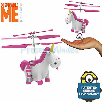 Despicable Me 3 Flying Fluffy Hand Controlled Flying Unicorn Minion Minions