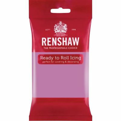 Renshaw Ready To Roll Icing Fondant Cake Regalice Sugarpaste 250g DUSKY LAVENDER