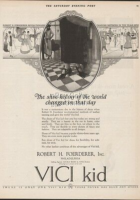1923 Vici Kid Womens Shoes Footwear Fashion Style Robert H Foerderer Print Ad