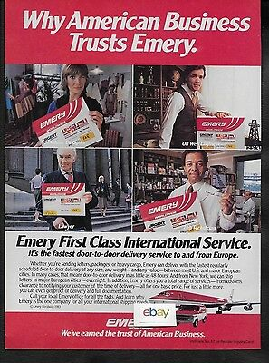 Emery Air Freight Why American Business Trusts Emery Dc-8 Ad
