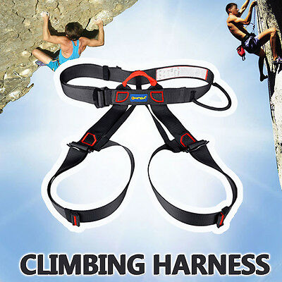 Safety Rock Tree Outdoor Climbing Rappelling Tool Harness Sitting Seat Bust Belt