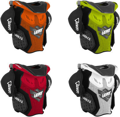 Leatt Youth Fusion 2.0 Junior Vest - Motocross Dirtbike Offroad