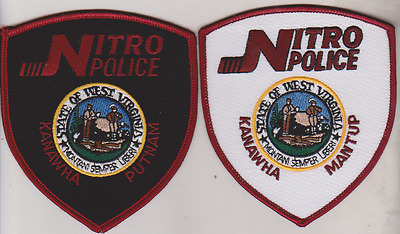 City of Nitro WV Police patches