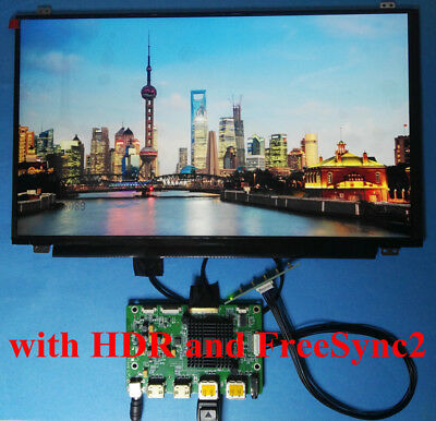 "HDMI DP Board + 15.6"" 3840x2160 UHD 4K LCD B156ZAN02.0 Matte for Raspberry Pi 3"