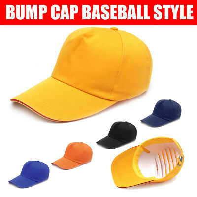 Bump Cap Baseball Style Hard Hat Safety Head Protection Lightweight Worker