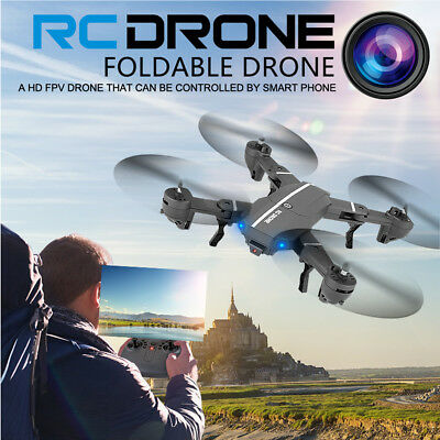Mini Foldable 8807W With Wifi FPV HD Camera 2.4G 6-Axis RC Quadcopter Drone Toys