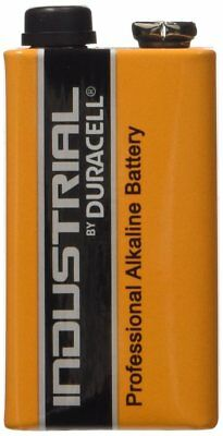 9 x 9V Duracell Industrial MN1604 E-Block Alkaline Batteries for Electronics