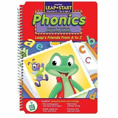 "LeapPad: Leapstart Phonics Leap's Friends A To Z"" Interactive Book And Very Good"