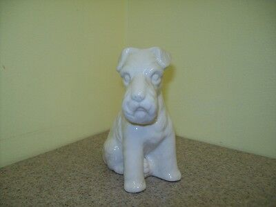 "Vintage Scottish Terrier Porcelain/Ceramic Dog Figurine 3 1/2"" Tall"