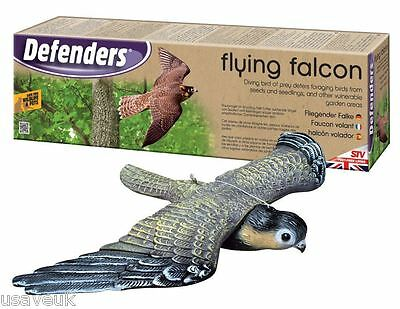 Decoy Flying Falcon Bird Scarer Pest Pigeon Bird Cats Rabbit Repeller stv971