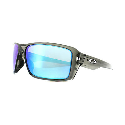 7563ef9156 Oakley Sunglasses Double Edge OO9380-06 Grey Smoke Prizm Sapphire Polarized
