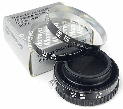 MAMIYA RB67 Fcusing Knob Adapter DSM - Boxed -