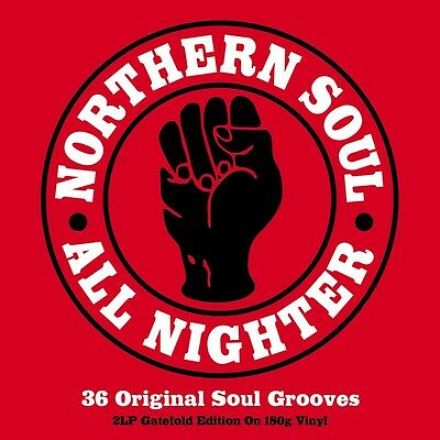 Northern Soul All Nighter - 36 Original Soul (2LP Gatefold 180g Vinyl) NEW