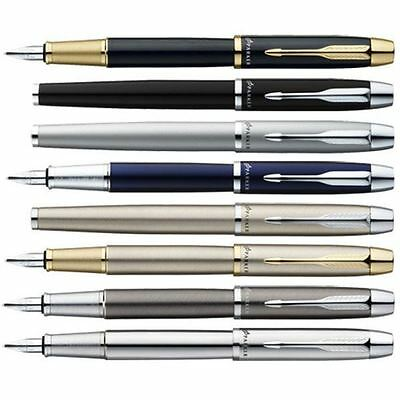 Parker IM Fountain Pen - Medium Nib - Gift Box - ALL Colours Available