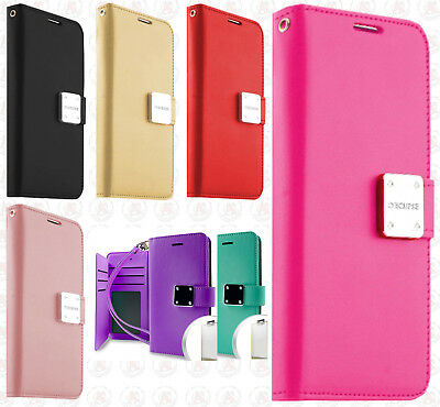 afcddc6fd44 For Samsung Galaxy On5 Premium Flip Out Pocket Wallet Case Pouch Cover  Accessory
