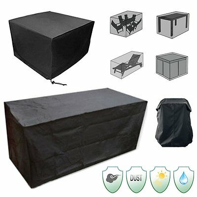 Waterproof Sofa Set Cover Garden Outdoor Patio 2-12 Seater Sofa Protector Covers