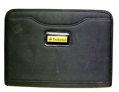 GEMLINE 2462 UPS PREFERRED Millenium Microfiber PADFOLIO Zipper WRITING CASE