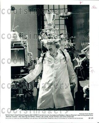 1995 Wire Photo Actor Jim Carrey As The Riddler in Movie Batman Forever
