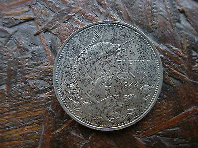 1966 Bahamas 50 Cent Silver Coin - Must See