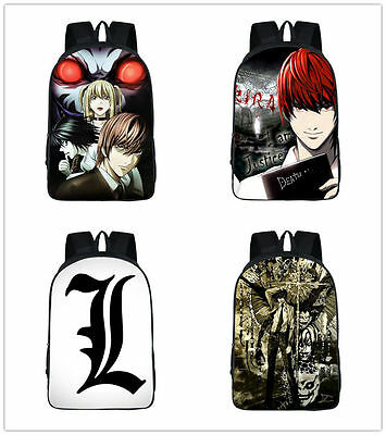 Neu Death Note Yagami Light Rucksack Tasche Backbag Backpack Bag 42x29x16CM