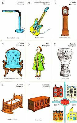Period Pieces antiques game National Trust card rummy deck Victorian Georgian