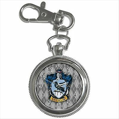 NEW HARRY POTTER RAVENCLAW HOGWARTS SCHOOL Key Chain Ring Watch Gift D05